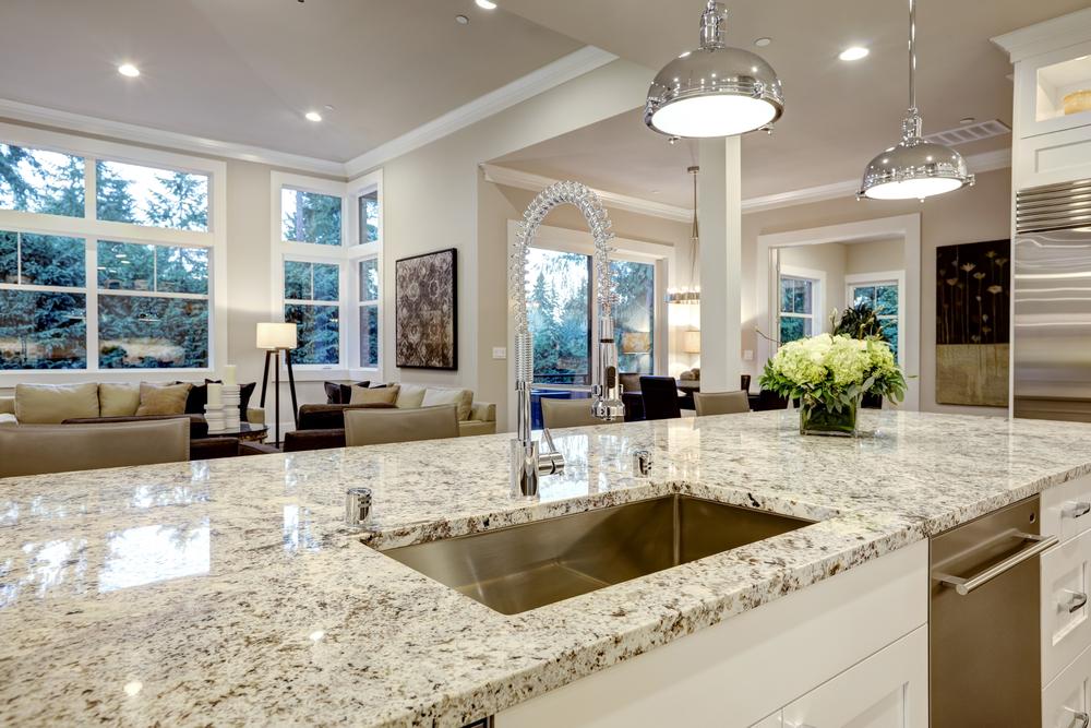 Granite Countertop + Types of Countertops